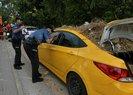 Taksici gerçeği öğrenince kendisini aracının içine kilitledi! Adana'da ilginç olay |Video