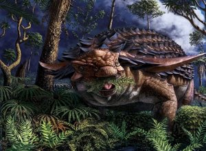 """Heyecanlandıran keşif! 110 milyon yıl önce ölen dinozorun """"son akşam yemeği"""""""