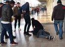 Antalya'da şantajcı operasyonu! Paraları sokağa atıp kaçmaya çalıştı