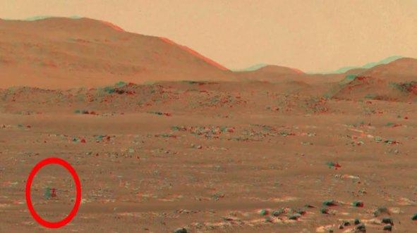 NASA videoyu yayınladı! Mars'ta inanılmaz görüntü
