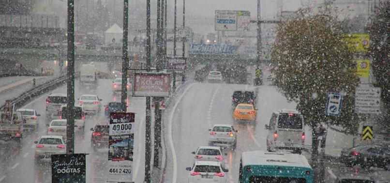 Meteoroloji'den son dakika uyarısı! İstanbul'a kar yağışı geliyor