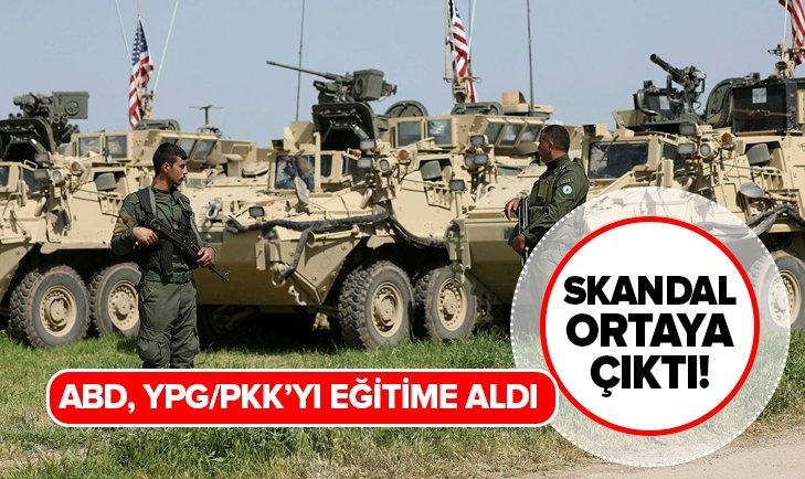 SKANDAL ORTAYA ÇIKTI! ABD'DEN TÜRKİYE'NİN OPERASYONUNA KARŞI YPG/PKK'YA ÖZEL EĞİTİM
