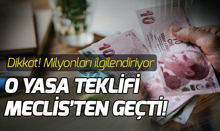 ASGARİ ÜCRET DESTEĞİ KOMİSYON'DA KABUL EDİLDİ
