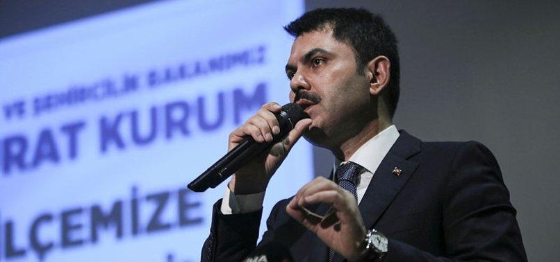 MURAT KURUM: BU DEV TESİS, YILLIK 450 BİN TON...