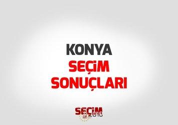 Konya Cumhurbaşkanlığı seçim sonuçları!