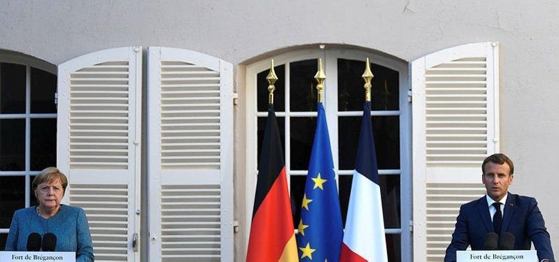 Merkel ve Macron'dan Doğu Akdeniz açıklaması