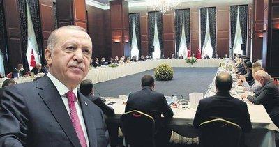 Başkan Recep Tayyip Erdoğan'dan AK Partili vekillere 8 talimat!