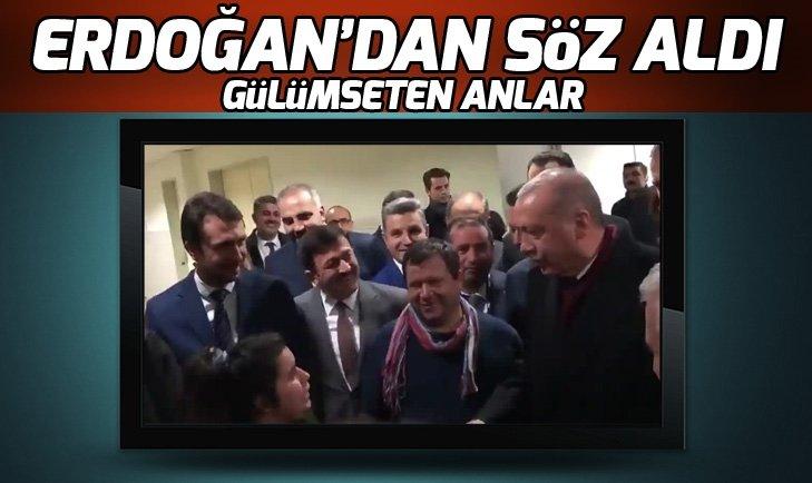 BAŞKAN ERDOĞAN'IN ÖZEL MİSAFİRİ POLİSLER İÇİN ERDOĞAN'DAN SÖZ ALDI