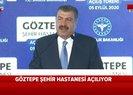 Son dakika: Sağlık Bakanı Koca Göztepe Şehir Hastanesi açılışında uyardı