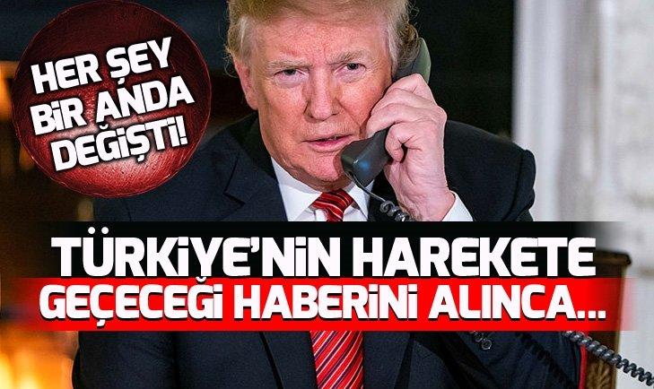 Türkiye'nin harekete geçeceğini anlayan Trump bakın ne yaptı!
