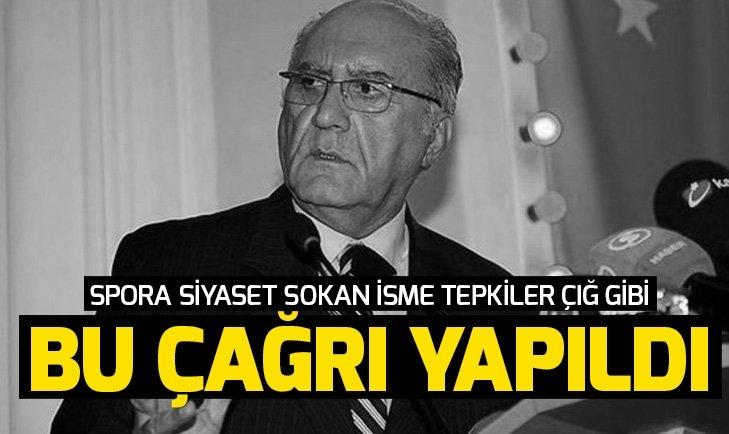 Sporu siyasete bulaştıran Galatasaray Divan Kurulu üyesi Hayri Kozak'a tepkiler çığ gibi