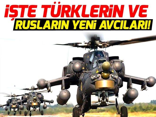 Türklerin ve Rusların yeni avcıları!