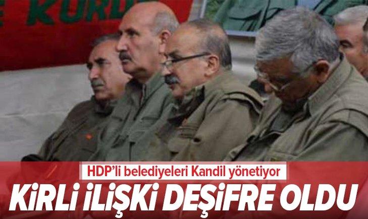 RAPORLARDA DEŞİFRE OLDU! HDP'Lİ BELEDİYELERİ KANDİL YÖNETİYOR