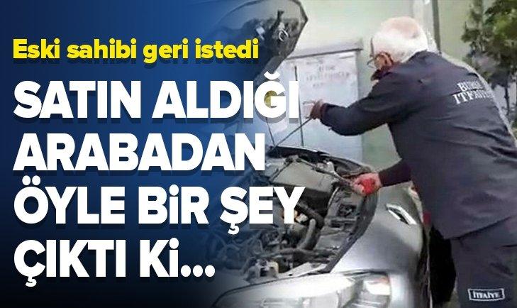ARABA SATIN ALDI İÇİNDEN ÖYLE BİR ŞEY ÇIKTI Kİ...