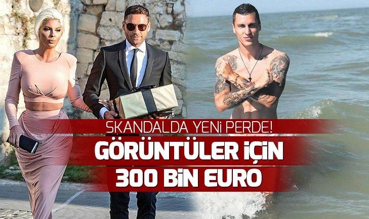 Jelena Karleusa'dan yeni skandal! Boşnak futbolcuOgnjen Vranjes'e300 bin euro teklif etmiş