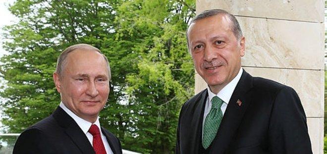 RUSYA DEVLET BAŞKANI PUTİN ANKARA'DA...