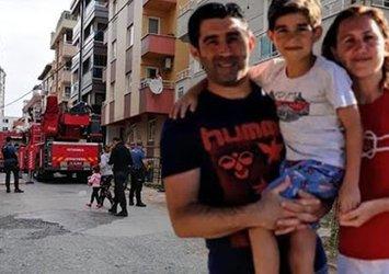 Son dakika: İstanbul'da yangın faciasında korkunç detay: Koca dehşeti çıktı! Anne öldü, 5 yaşındaki oğlu ağır yaralı