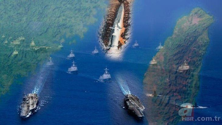 Çin savaş jetleri o ülkenin hava sahasını ihlal etti! ABD-Çin gerginliği artıyor