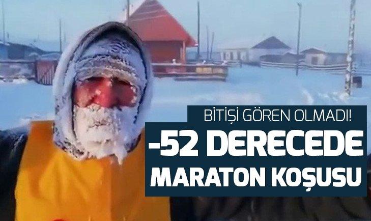 -52 DERECEDE MARATON KOŞUSU