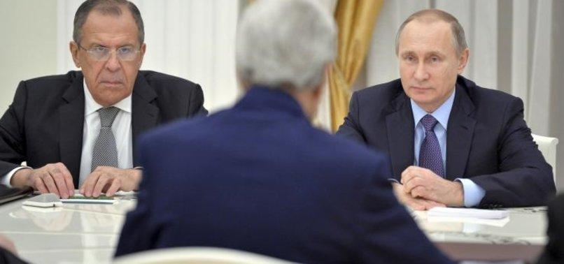 RUSYA'DAN SURİYE DUYURUSU: SONA GELİNDİ