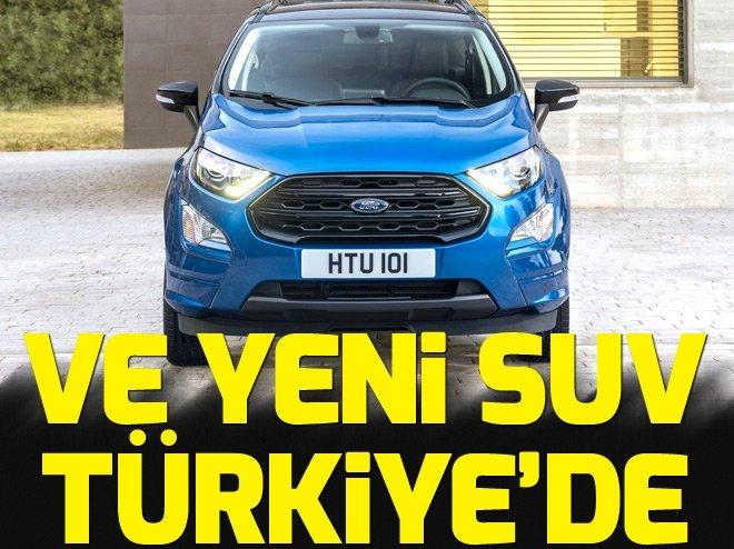 YENİ FORD TÜRKİYE'DE