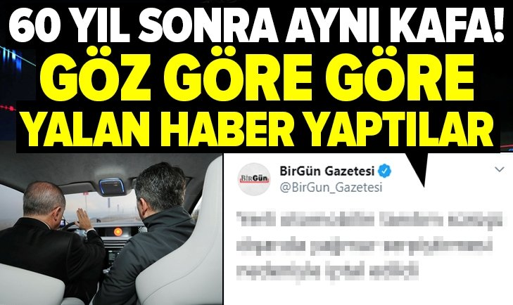 BirGün'den skandal 'yerli otomobil' haberi!
