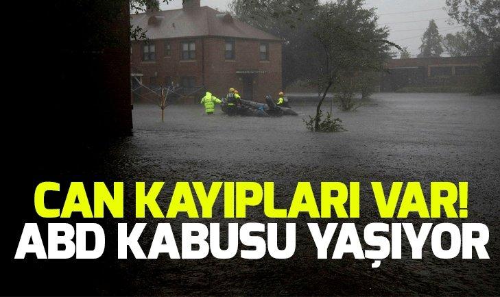FLORENCE KASIRGASI ETKİSİNİ GÖSTERMEYE BAŞLADI