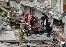 Son dakika: İstanbul'da 7 katlı bina çöktü! Kolanların demirleri çalınmış | Video