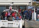 Yunanistan'a kaçmak isteyen 92 göçmen Çanakkale'de yakalandı