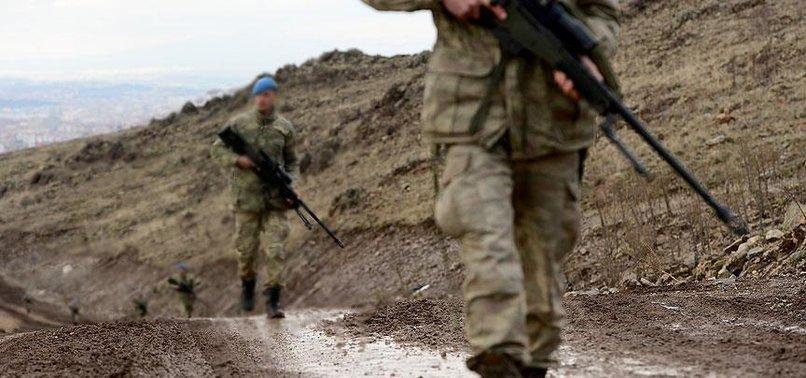 PKK'YA AİT ÇOK SAYIDA SİLAH MÜHİMMATI BULUNDU