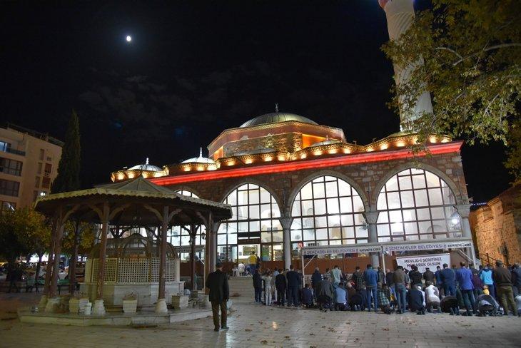 Türkiye'den Mevlid Kandili manzaraları