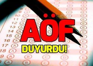 AÖF sınav sonuçları açıklandı mı? Anadolu Üniversitesi'nden flaş açıklama!