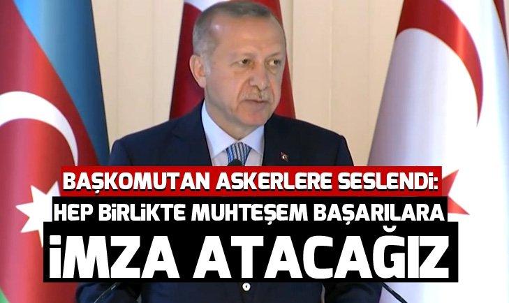 Başkan Erdoğan: Hep birlikte muhteşem başarılara imza atacağız