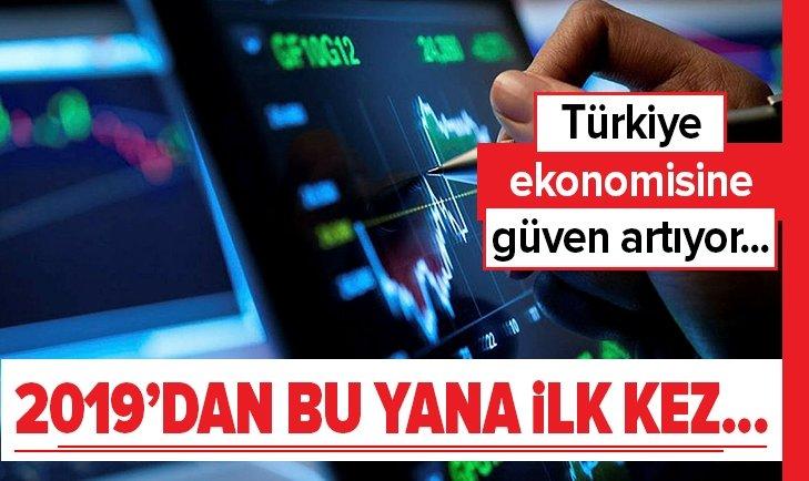 TÜRKİYE EKONOMİSİNE GÜVEN ARTIYOR...