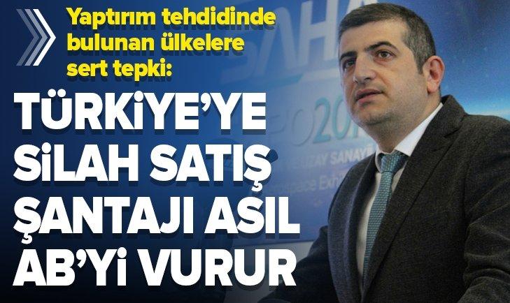 TÜRKİYE'YE ŞANTAJ AB'Yİ VURUR