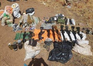 Hakurk'ta PKK'nın cephanesi imha edildi