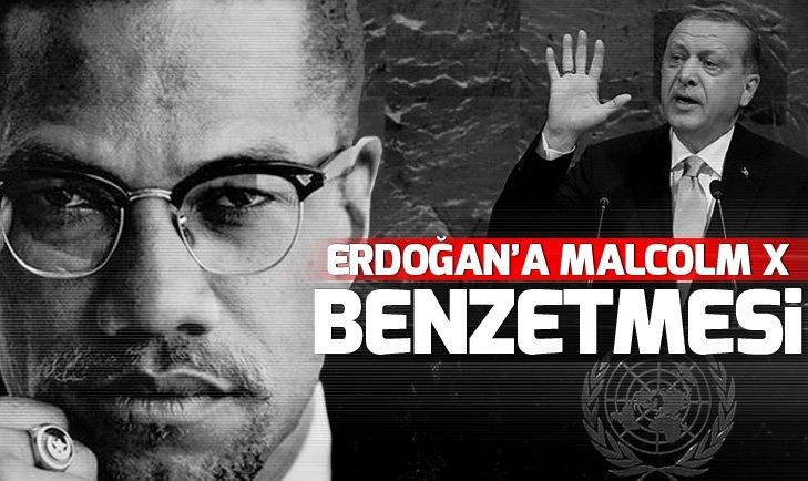 Malcom X'in kızı Erdoğan'ı babasına benzetti