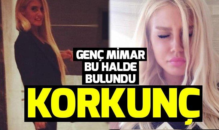 İstanbul'da 30 yaşındaki mimar Eda Yamanarslan'ın sır ölümü