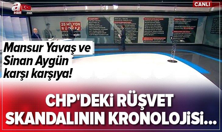 CHP'deki 25 milyon rüşvet skandalının kronolojisi...