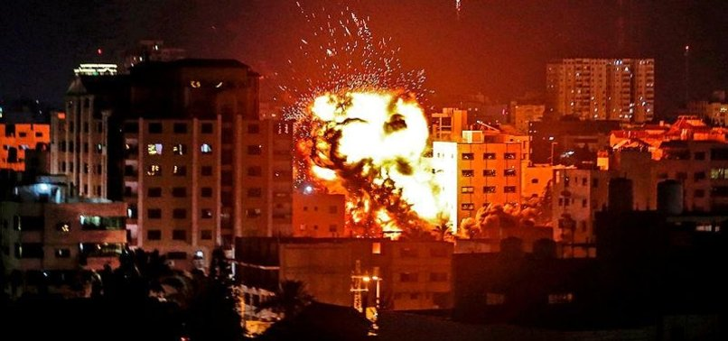 Son dakika: İşgalci İsrail'den Gazze'ye hava saldırısı!
