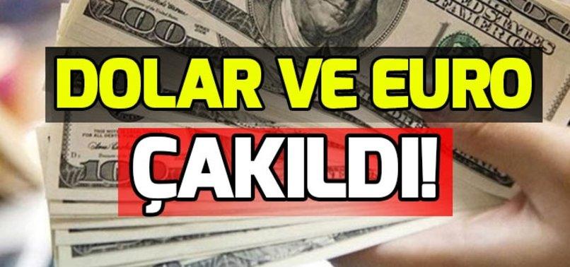 DOLAR VE EURO ÇAKILDI! DOLAR VE EURO NE KADAR OLDU? İŞTE DÖVİZ KURU 31 OCAK!