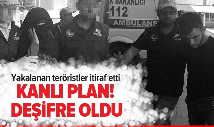 YAKALANAN TERÖRİST PKK'NIN EYLEM PLANINI DEŞİFRE ETTİ