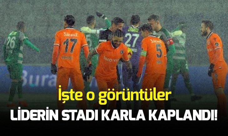 Medipol Başakşehir - Bursaspor maçı ileri bir tarihe ertelendi!