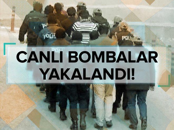 GAZİANTEP'TE, DEAŞ'IN 3 CANLI BOMBASI TUTUKLANDI