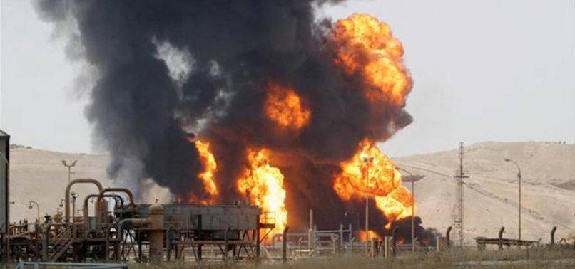 IRAK'TA DEAŞ'LI TERÖRİSTLER PETROL KUYULARINA SALDIRDI