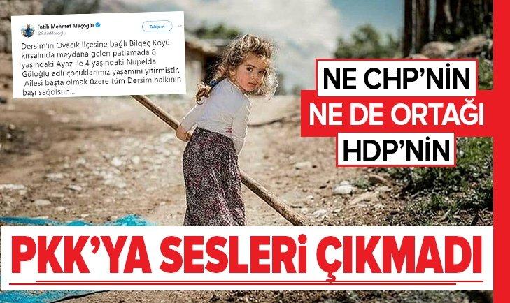 PKK 2 ÇOCUĞU ŞEHİT ETTİ, ORTAKLARINDAN ÇIT ÇIKMADI