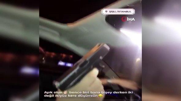 Adliyenin önünde havaya ateş açan maganda tutuklandı