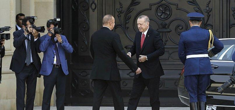 BAŞKAN ERDOĞAN AZERBAYCAN'DA...