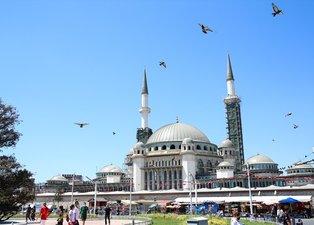 Taksim Camii'nde son durum: Yüzde 65'i tamamlandı!