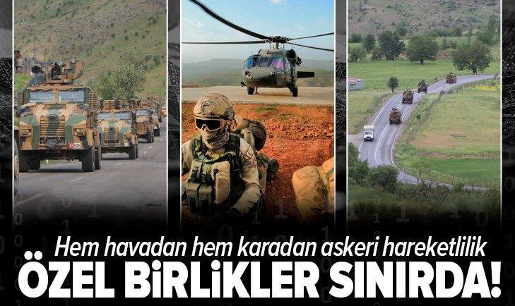 Özel birlikler sınırda!